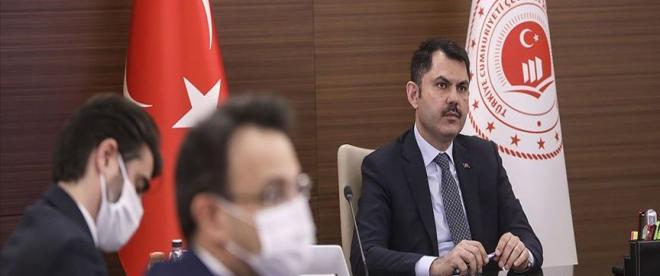 """Bakan Kurum: """"Antalyada 413 yapının imara aykırı ve izinsiz yapıldığını saptadık"""""""