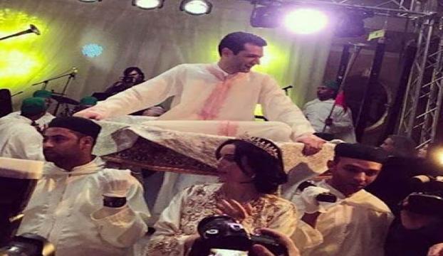 Oyuncu Murat Yıldırım ikinci düğününü Fas'ta yaptı