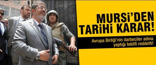 Mursi'den tarihi karar!