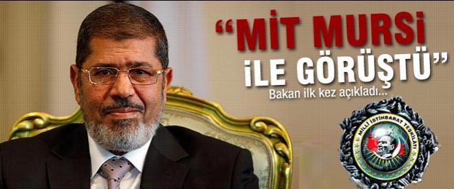 """""""MİT Mursi ile görüştü"""""""