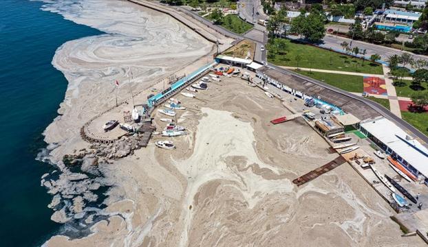 Marmara Denizinden 9 bin 959 metreküp müsilaj bertaraf edildi