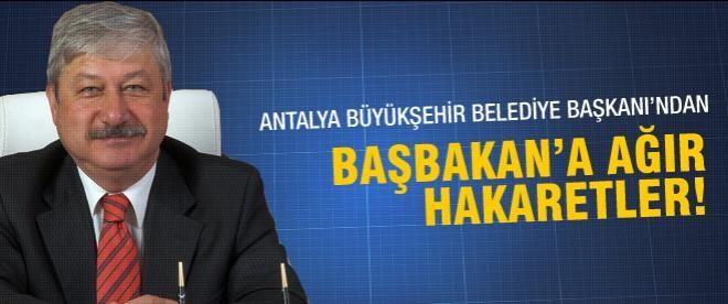 CHP'li Başkan'dan Başbakan'a ağır hakaret!
