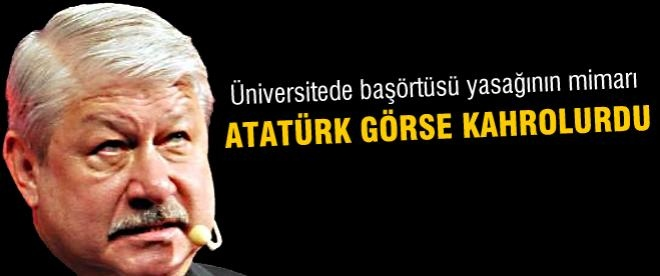 Mustafa Akaydın'ın başörtüsü nefreti