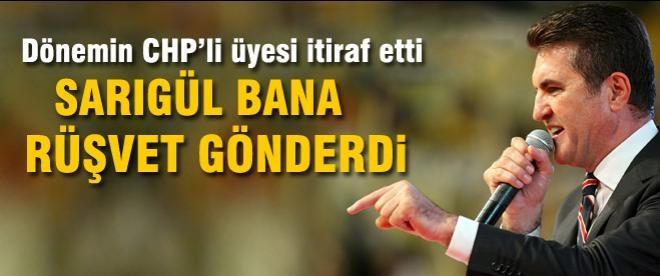 CHP'li Aydoğan: Sarıgül bana rüşvet gönderdi