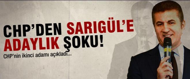 Mustafa Sarıgül'e CHP'den şok!
