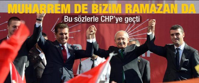Mustafa Sarıgül CHP'ye katıldı