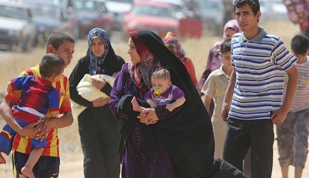 """""""Musulda evlerini terk edenlerin sayısı yüz bine ulaştı"""""""