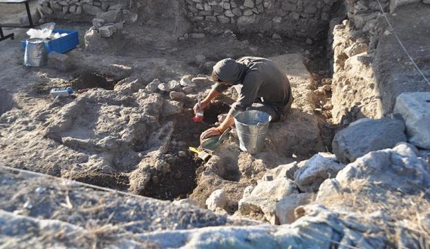 2 bin 600 yıllık mutfak bulundu