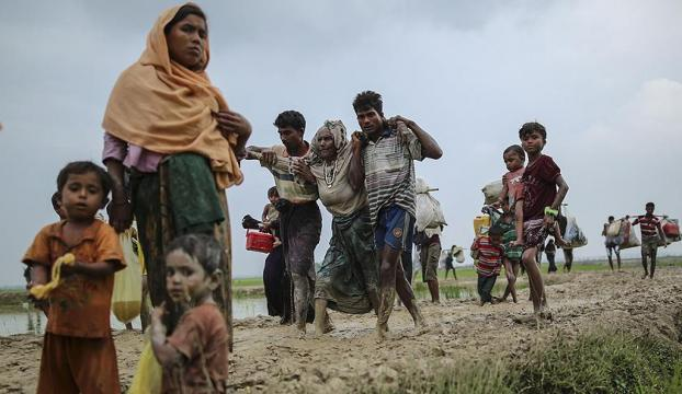 Arakanda Ekimden beri Müslümanlara ait 40 köy yakıldı