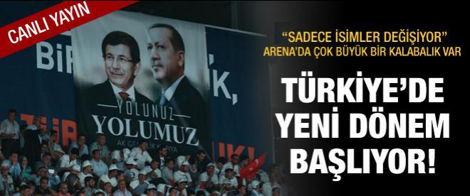 Başbakan Erdoğan Ankara Arena'da konuştu