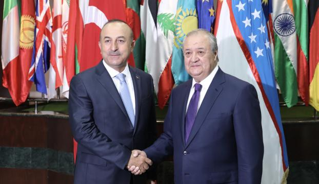 Çavuşoğlu-Kamilov ortak basın toplantısı