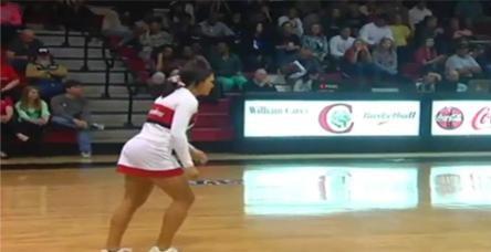 Ponpon kızdan inanılmaz basket