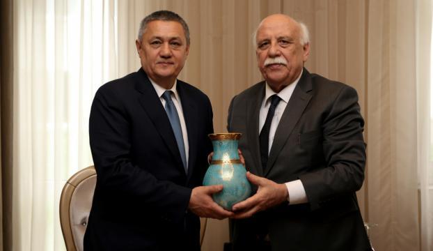 Türkiye ile Özbekistan kültür ve turizmde iş birliğine gidecek