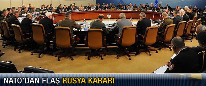 NATO'dan flaş Rusya kararı