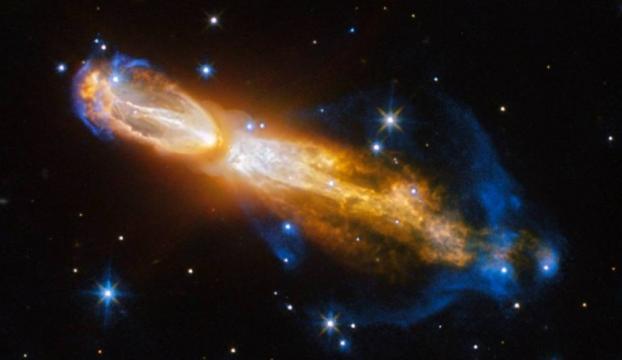 """Hubble, """"ölen"""" yıldızı nebula halinde görüntüledi"""