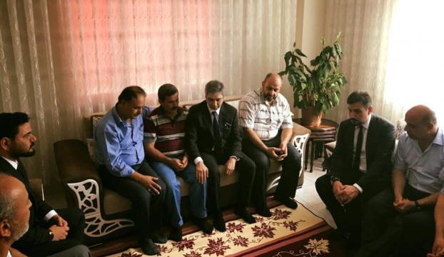 Necati Şaşmaz şehit polis Doğan'ın ailesini ziyaret etti
