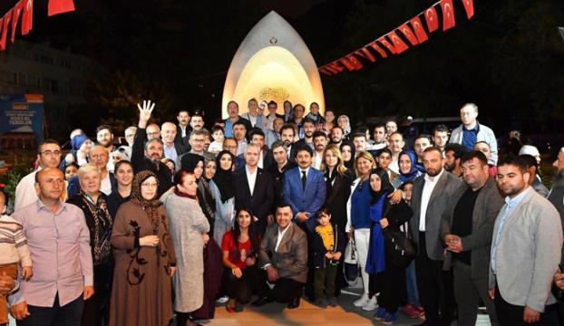 Necati Şaşmaz, Üsküdar Belediyesinin iftar programına katıldı