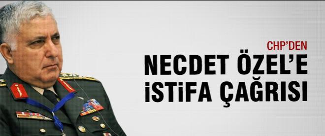 CHP Necdet Özel'İ istifaya çağırdı