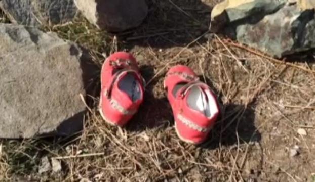 Nehirin ayakkabıları bulundu