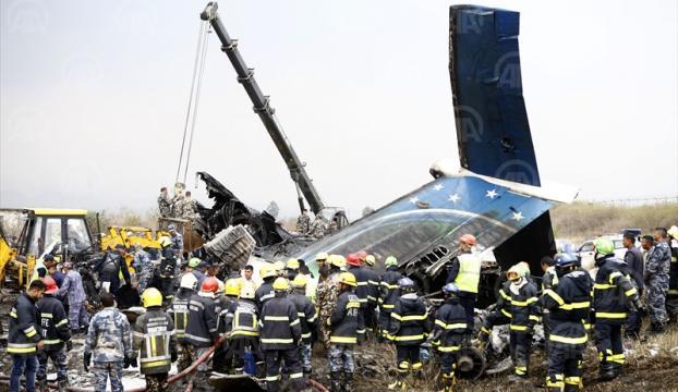 Nepalde uçak düştü: 38 ölü