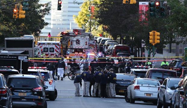 New Yorktaki saldırıda ölenlerin sayısı 8e yükseldi