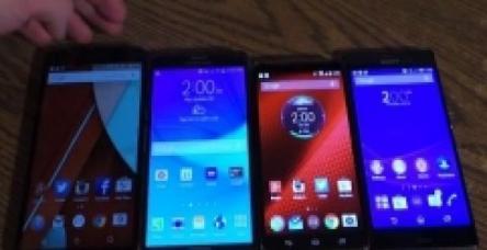 testEn popüler akıllı telefonları yakından inceleyin