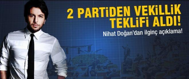 Nihat Doğan'a TBMM'deki iki partiden teklif!