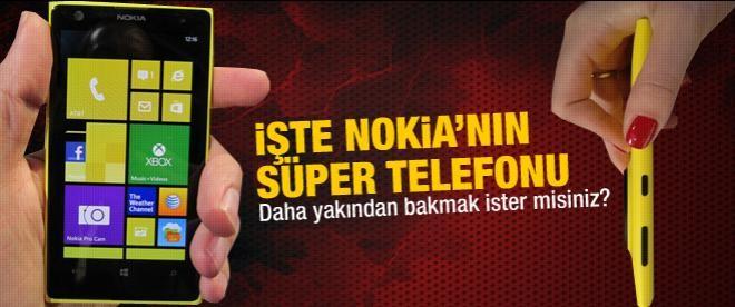Nokia'nın süper telefonuna yakından bakın!