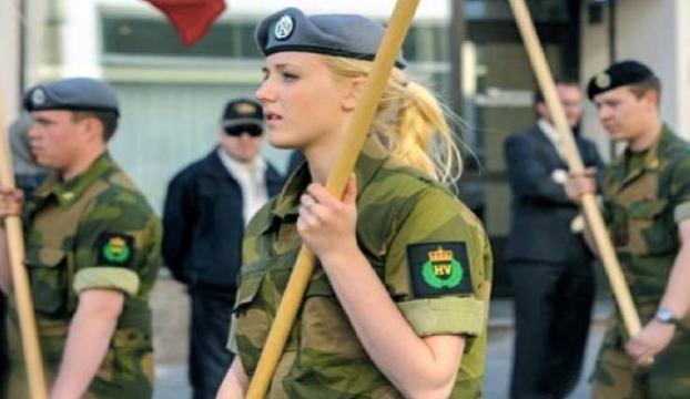 Norveçte kadınlara kışla yolu gözüktü