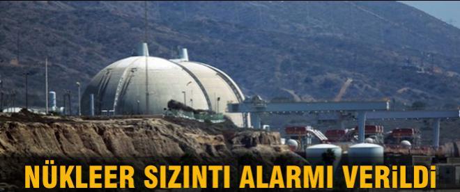 Nükleer sızıntı alarmı