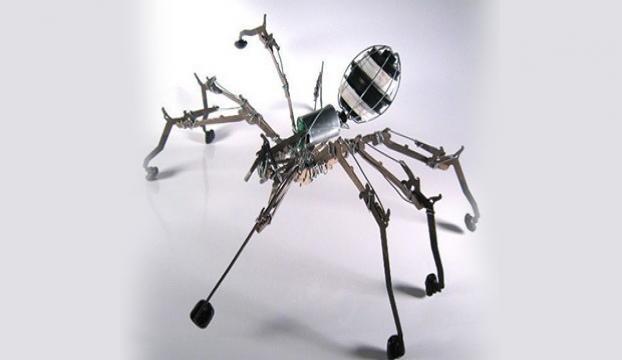 Robot böcekler için gerisayım