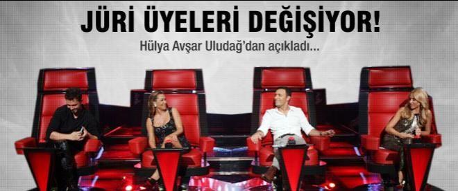 O Ses Türkiye'nin jürisi değişiyor!