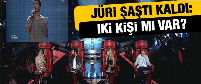 'O Ses Türkiye'de jüri şaşkın!