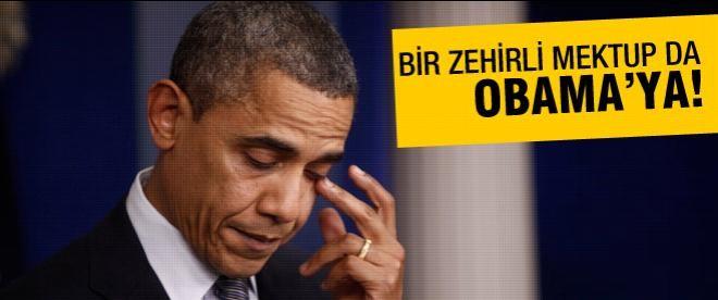 Obama'ya da zehirli mektup gönderildi