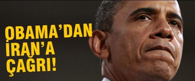 Obama'dan Ruhani'ye çağrı