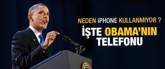 Obama: iPhone kullanmam yasak
