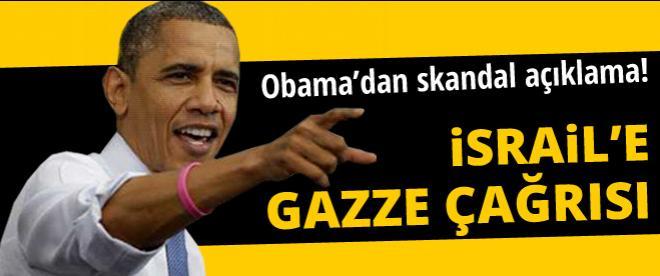 Obama'dan İsrail'e destek