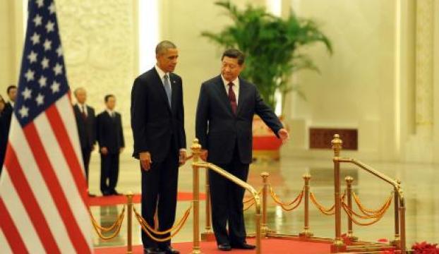 Obama, Çinde askeri törenle karşılandı