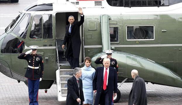 Obama, Beyaz Saraya böyle veda etti