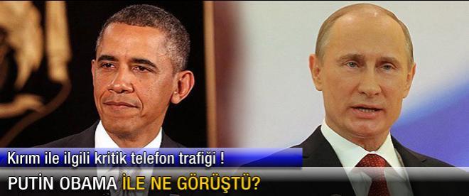 Putin Obama ile ne görüştü?