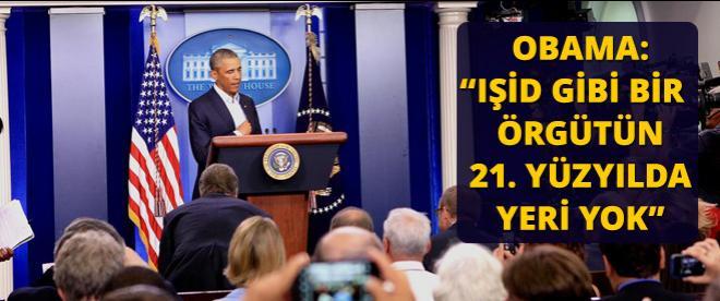 Obama IŞİD'i kansere benzetti