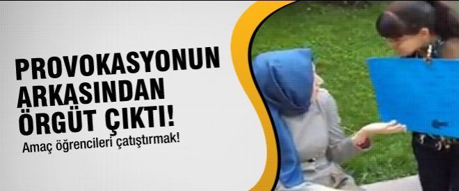 ODTÜ'deki başörtüsü provokasyonun ardından örgüt çıktı