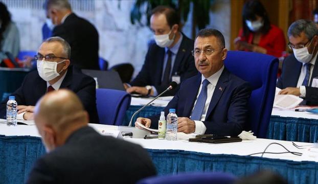 Cumhurbaşkanı Yardımcısı Oktay: 2021 bütçesi güçlü şekilde toparlanmaya başlayan Türkiyenin bütçesidir