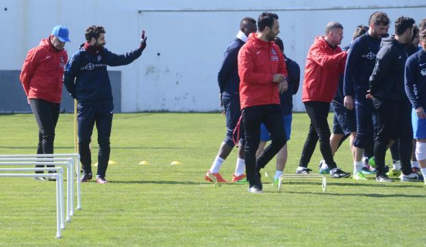 Trabzonsporda Akhisar Belediyespor maçı hazırlıkları