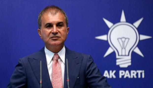 """AK Parti Sözcüsü Çelikten """"sözde Cumhurbaşkanı"""" ifadesine tepki"""