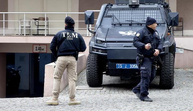 İzmirde PKKnın şehir yapılanmasına operasyon