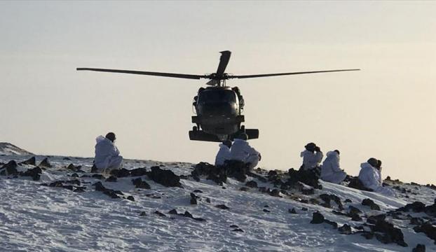 Tendürek Dağında 20 terörist etkisiz hale getirildi