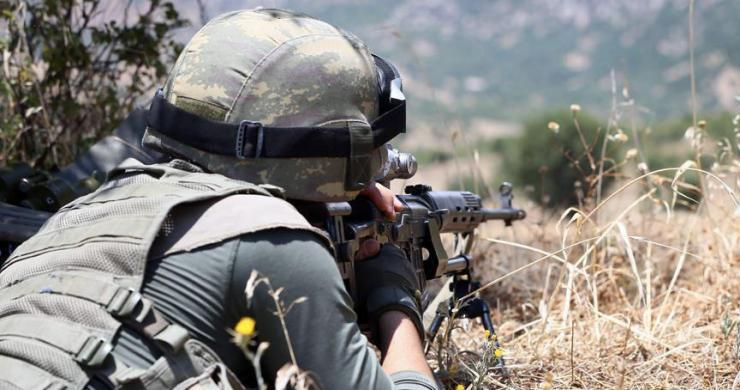 Irak'ın kuzeyinde 3 terörist ile silahlı İHA etkisiz hale getirildi