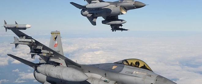Irakın kuzeyinde 12 hedef imha edildi