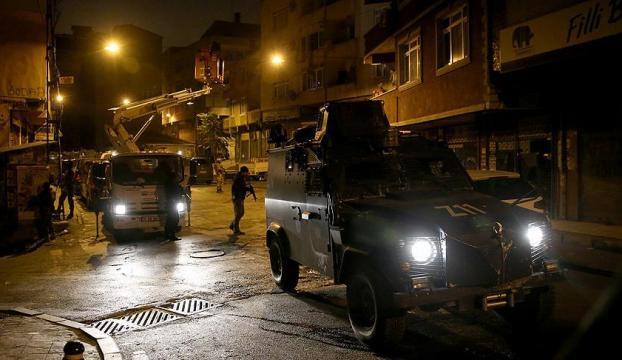 İstanbulda terör operasyonu: 15 gözaltı